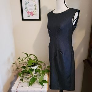 Calvin Klein Denim Dress Size Medium